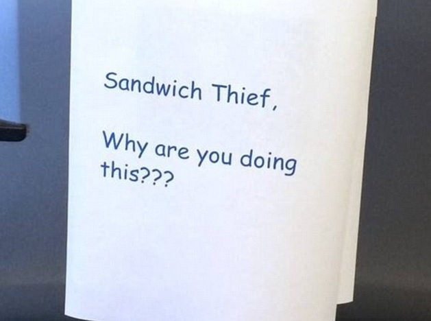Where in the World is My Goddamn Sandwich?