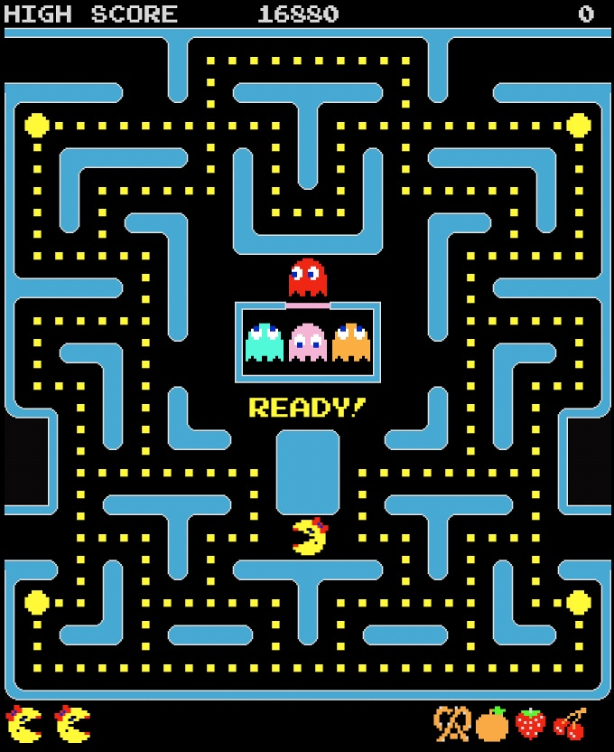 Ms. Pac-Man (Arcade/Namco collections from 1996-on)
