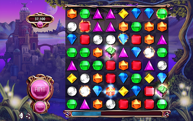 Bejeweled series (Browser/DS/XBox/Mobile devices)
