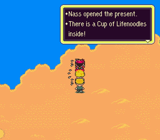 2. Cup of Lifenoodles (Earthbound)