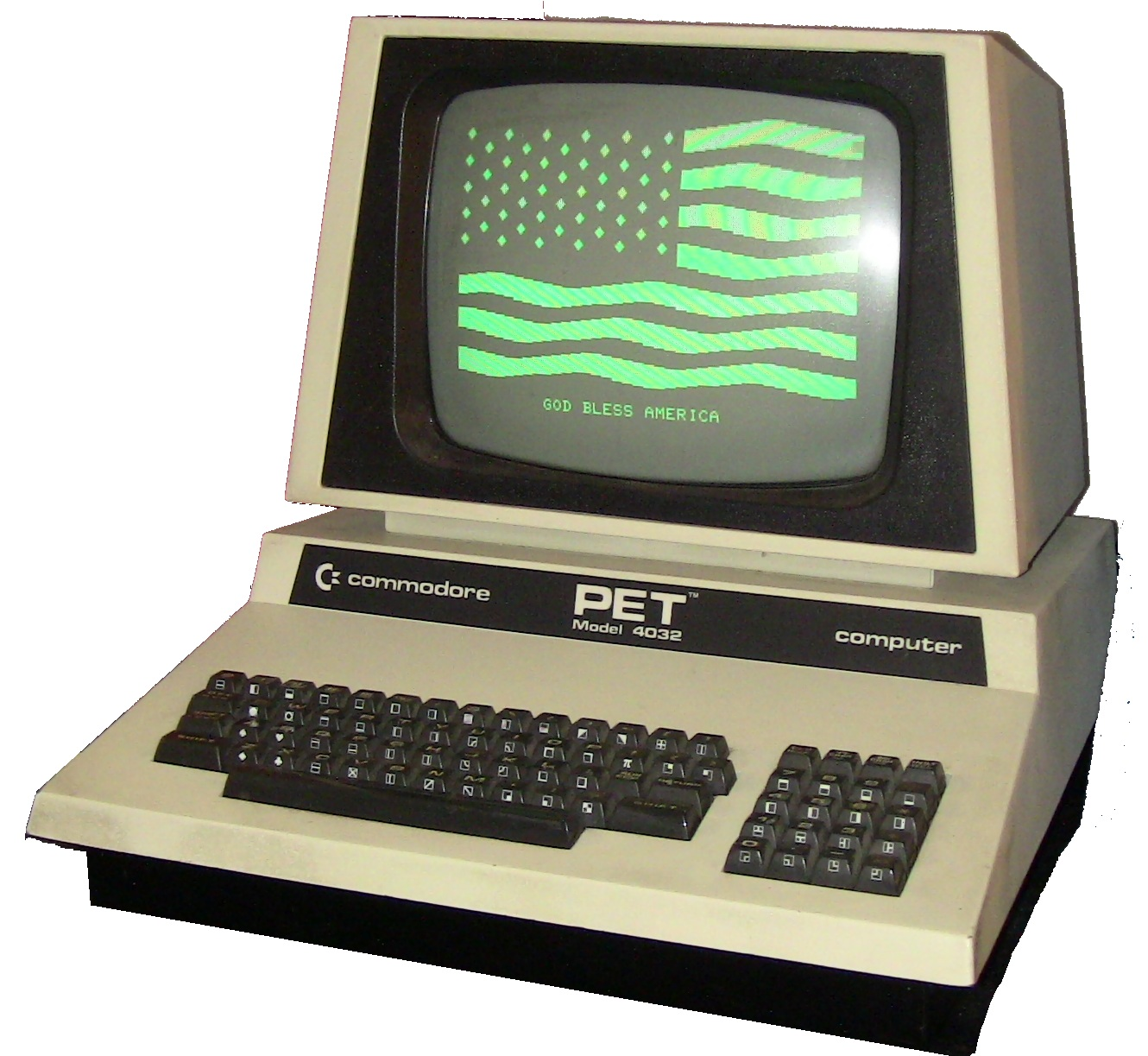 His first PC was a Commodore PET