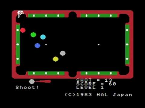 His first published game was Super Billiards