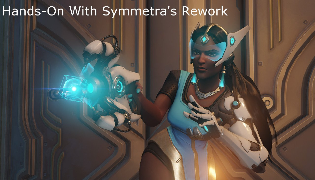Hands-On With Symmetra\'s Rework
