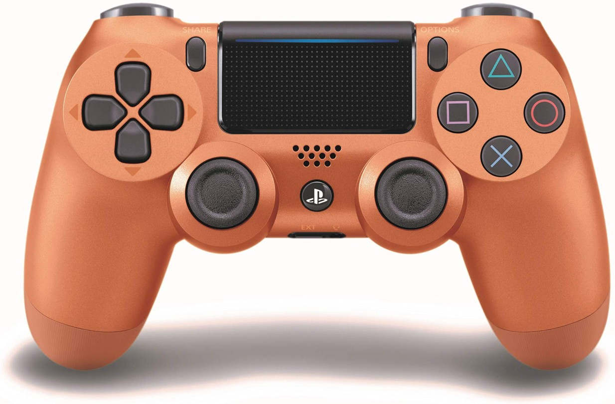 DualShock Wireless 4 Controller for PS4 in Copper – $53.98 – (9% off)
