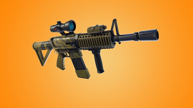 Thermal Scoped Assault Rifle
