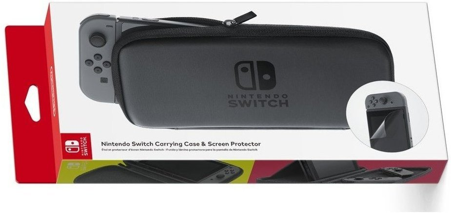 Nintendo Switch Carrying Case + Screen Protector
